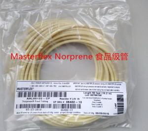 美国进口MASTERFLEX NORPRENE食品泵管06402-16