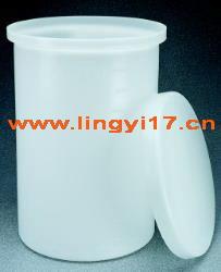 美国耐洁Nalgene带盖的重型圆桶罐,容量757L,200加仑,LLDPE材质11100-0200