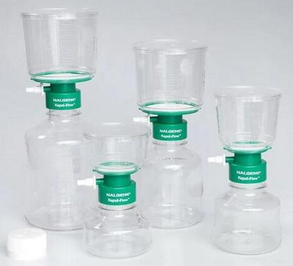 美国Nalgene耐洁Rapid-Flow™带CN滤膜的无菌一次性过滤装置