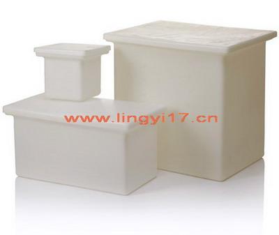 美国耐洁Nalgene带盖方形罐_LLDPE,61x45x61cm尺寸14100-0065