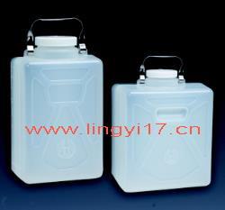 美国耐洁Nalgene矩形细口大瓶,聚丙烯,PP 螺旋盖2212-0050