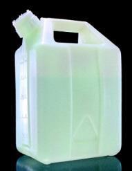 美国耐洁Nalgene氟化油桶,氟化高密度聚乙烯,氟化聚丙烯盖20L容量2242-0050