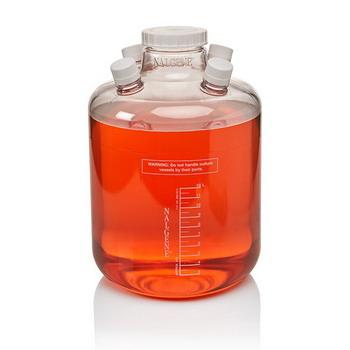 美国耐洁Nalgene带端口的聚碳酸酯培养瓶2600-0012