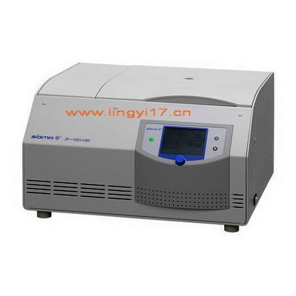 德国Sigma 3-18KS台式高速冷冻离心机,最高转速:18000rpm,最大容量:4x400ml