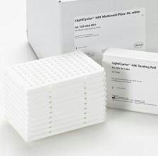 Roche罗氏八连管白色/透明罗氏八联PCR管含8联管盖