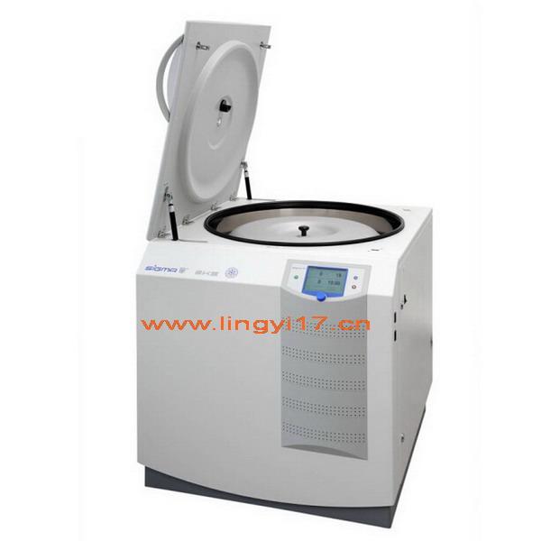 德国Sigma 8KS大容量立式冷冻型离心机,最高转速:10500rpm,最大容量:12L