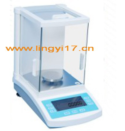 凌仪FA2204电子分析天平,量程/精度:220g/0.1mg
