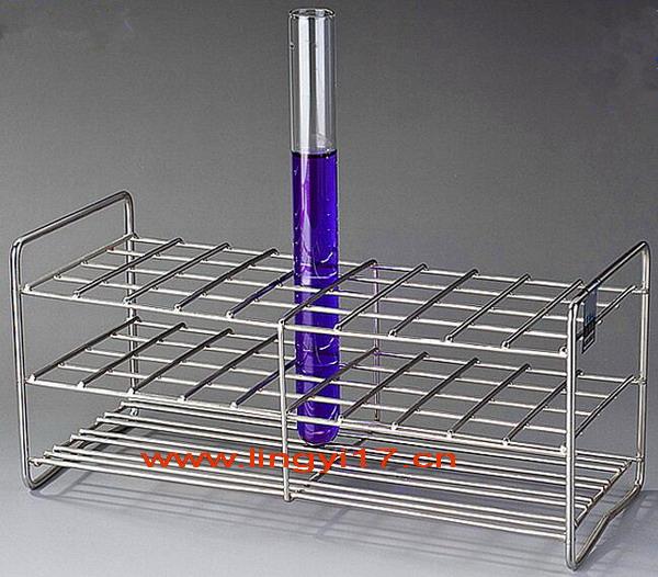 LY15-40不锈钢试管架,适合直径Φ14.5~Φ16试管,40个孔,孔径17mm