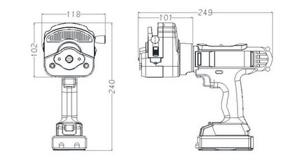 SC-I手持取样泵,流量范围:0-3420ml/min