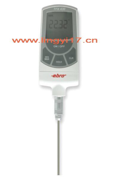 德国EBRO颐贝隆TFX430高精度便携式温度计