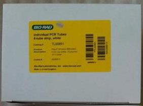 美国BIO-RAD伯乐0.2 ml白色低位八连管TLS0851八联排管